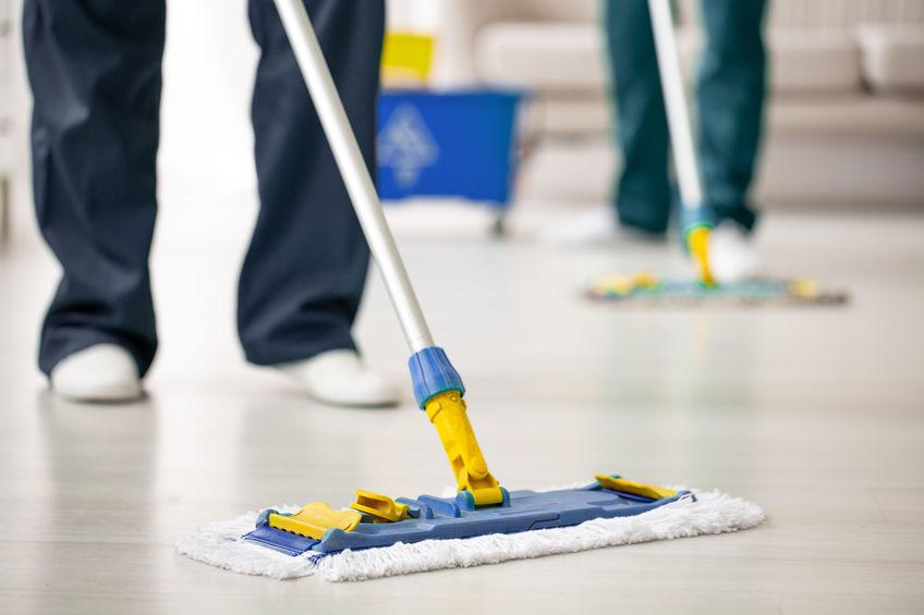 Reinigung Ihrer Privaträume