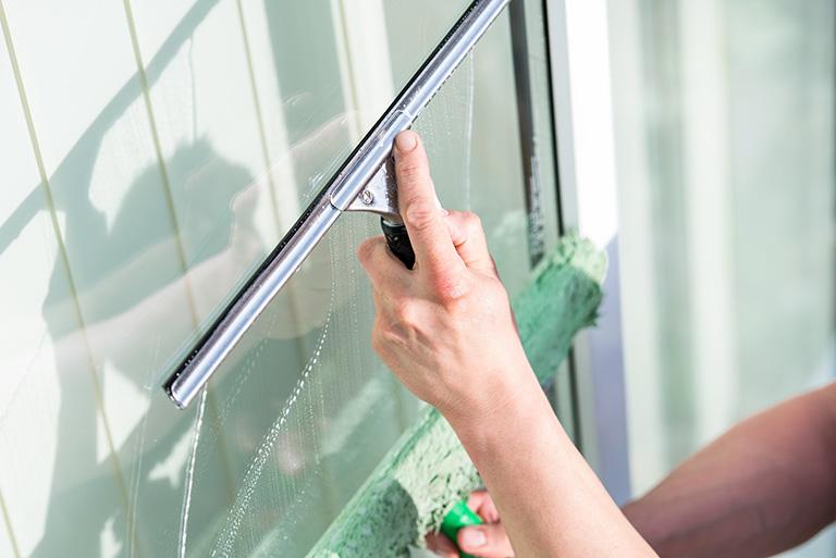 Reinigung Ihrer Glasflächen